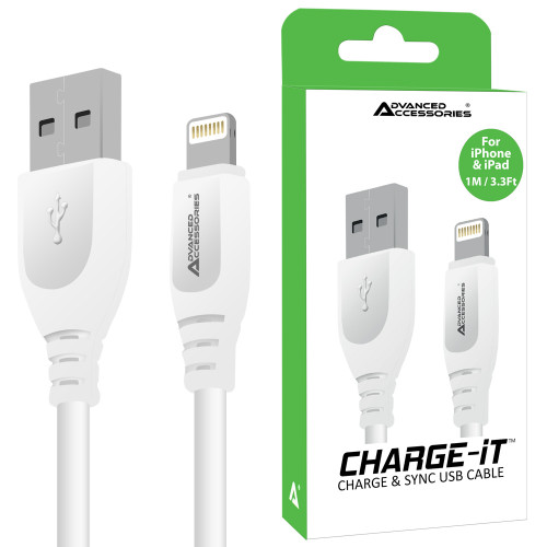 AA CHARGE-IT 8 Pin USB Data Cable for Apple Lightning devices