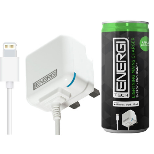 Tech Energi® Apple Lightning Mains Charger