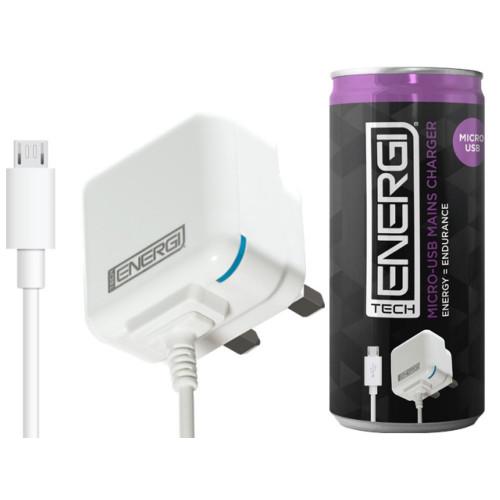 Tech Energi Micro-USB Mains Charger 1Amp