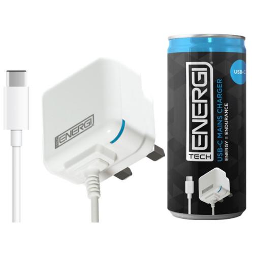 Tech Energi USB-C Mains Charger 1Amp