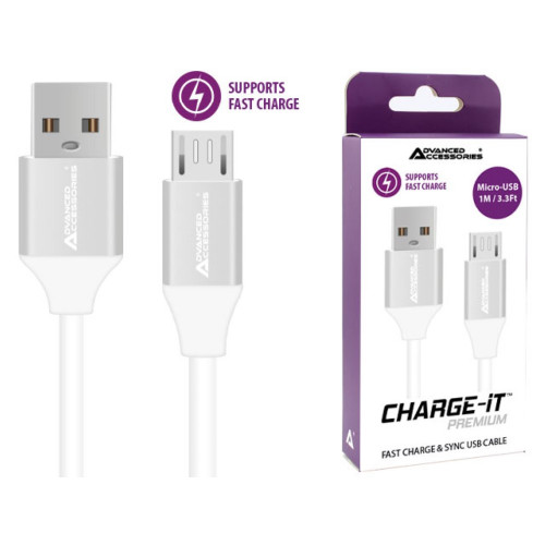 AA CHARGE-IT Premium Micro USB Cable Supports Fast Charge