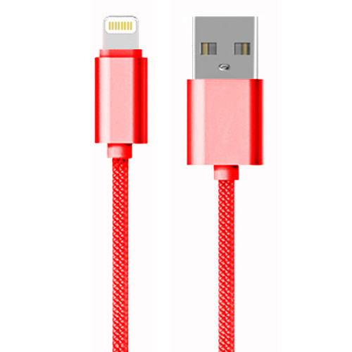 AA Charge-iT Premium Braided 8 Pin USB Cable