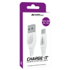 AA CHARGE-IT MicroUSB Cable - 3 Metres-White
